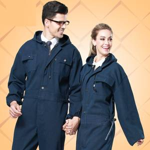 Bunny-Suit-Set Protective-Clothing Worker Painted Denim Male 10-Wear-Resistant-One-Piece