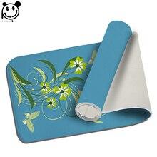 PEIYUAN Welcome font b Indoor b font Doormat Green Plant Flowers Yoga Mat Door Mat Floor