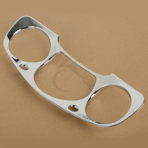 Chrome Motorcycle Speedometer Gauges Cover For Honda GOLDWING GL1800 2001 2005