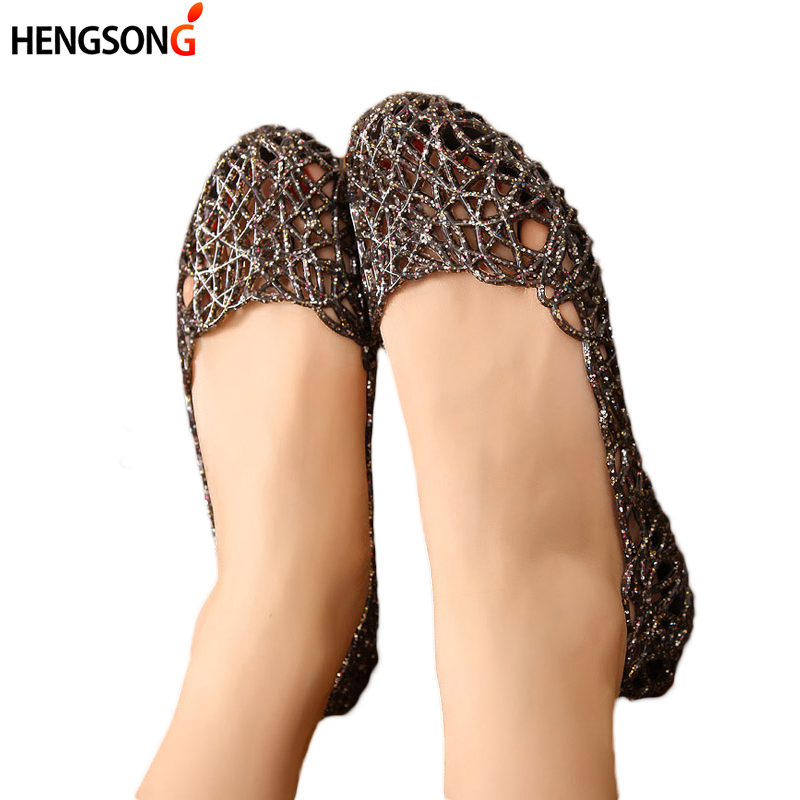 hengsong Lady Summer Women Casual Jelly Shoes Sandals Flats