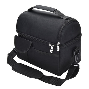 Lunch Bag Reusable Insulated Thermal Bag Women Men Multifunctional 8L Cooler And Warm Keeping Lunch Box Leakproof Waterproof 1