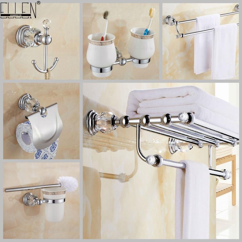 Crystal Bathroom Hardware: Bathroom Hardware Set Crystal Bath Towel Shelf Toilet