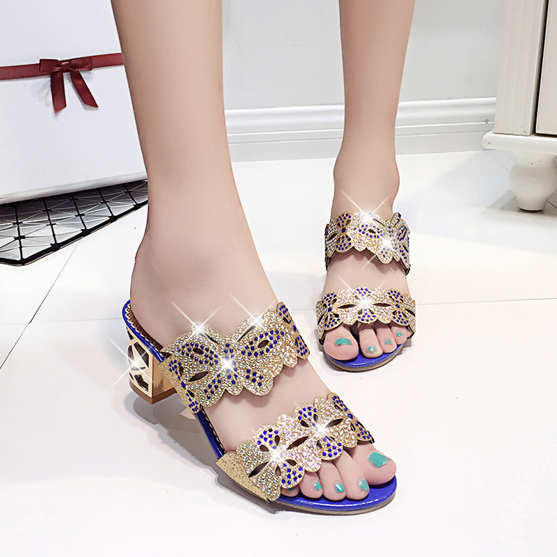 new fashion rhinestone cut-outs women square heel party sandals with butterfly - free shipping! New Fashion Rhinestone cut-outs Women Square Heel Party Sandals with Butterfly – Free Shipping! HTB1z2YfRVXXXXXpXXXXq6xXFXXX7