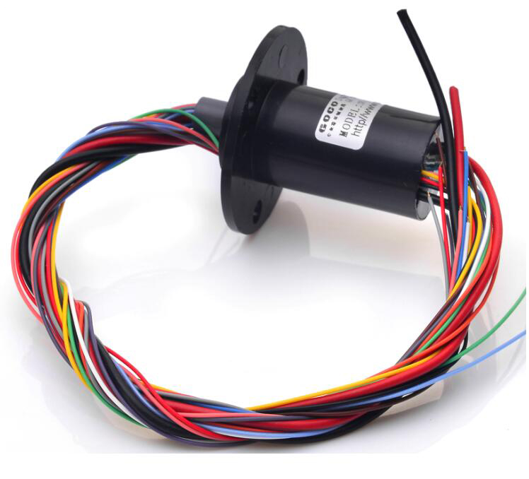22mm 2 wires 20A+12 wires 2A Conductor Conducting Slip Ring SRC-22-022012A Tank turret Household smoke alarm Slip ring