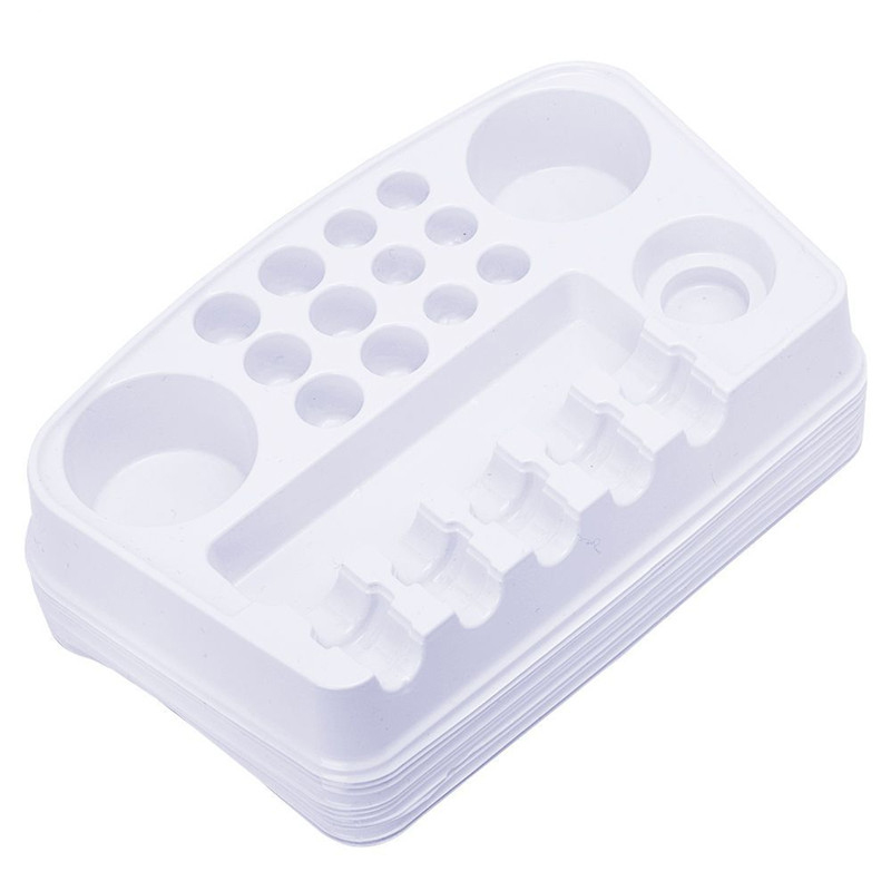 12PCS Disposable Tattoo Plate Ink Pigment Cartridge Tip Cup Holder Tray Color Palette White Plastic Rectangle Microblading Tool-in Tattoo accesories from ...  sc 1 st  AliExpress.com & 12PCS Disposable Tattoo Plate Ink Pigment Cartridge Tip Cup Holder ...