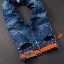 Lgnacelee мужские джинсы тонкий прямой весна молодежи случайные штаны 823