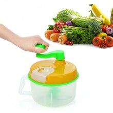 Multifuncional Manual de Verduras Frutas Chopper Trituradora Picado Máquina Kithchen Herramienta de Cocina Accesorios de Cocina
