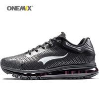 ONEMIX/Новинка; Лидер продаж; мужские кроссовки; Сникеры на воздушной подушке для мужчин; спортивная обувь; Zapatillas; уличная дышащая обувь