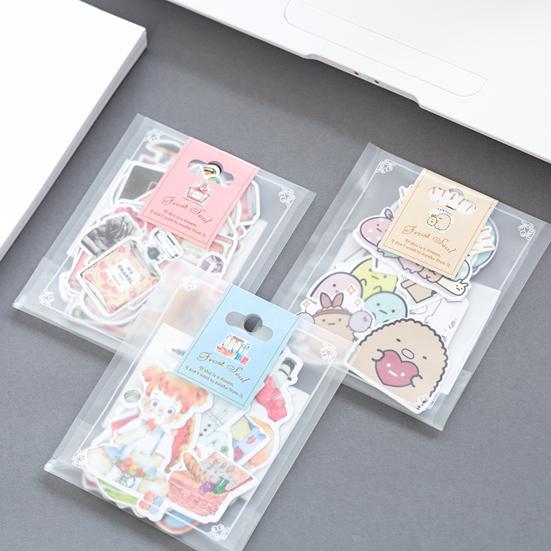 1 Pack Cute Cat Adhesive DIY Sticker Stick Label Notebook Album Trunk Decor Stickers
