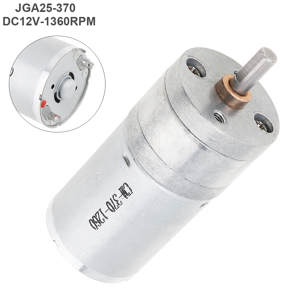 Earnest Jga25-370 Dc12v 1360rpm Reducer Motor With High Torque Gear For Electrical Tools Smart Device Hot Outstanding Features Smart Car
