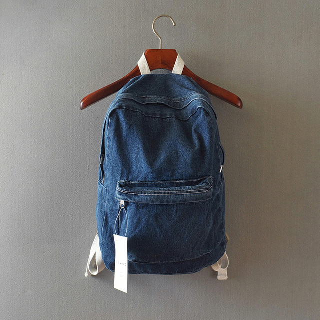 fashion women book bags vintage Denim Backpack college men back bags  rucksack school bag boys schoolbags kids girls sack pack 6ff9ca167f