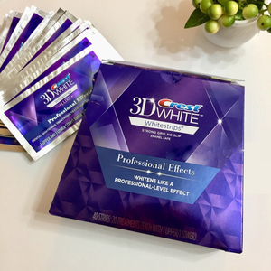 Image 5 - 3D White Strips Professional Effects Whitestrips Teeth Care 5/10/20 Pouch Dental Hygiene Tooth Whitener Teeth Whitening Strips