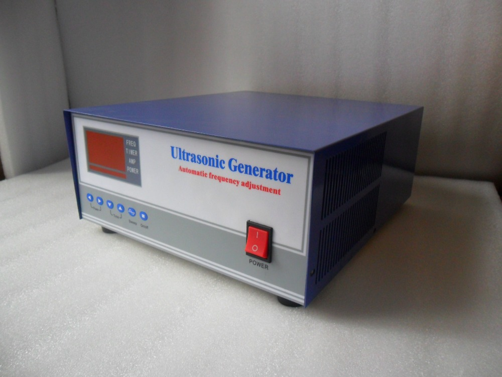 50KHZ 1200W High Frequency ultrasonic Generator,50khz piezoelectric ultrasonic generator