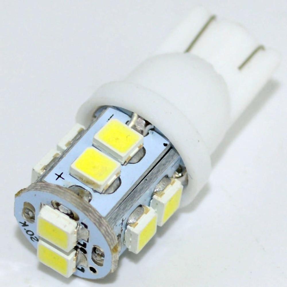 Image 4 - Safego 10 шт. Автомобильный светодиодный свет T10 W5W 168 194 1210 3528 10 SMD авто интерьер сигнальные лампы хвост, Wedge Bulb, работающего на постоянном токе 12 В в 6000 K белый-in Сигнальная лампа from Автомобили и мотоциклы