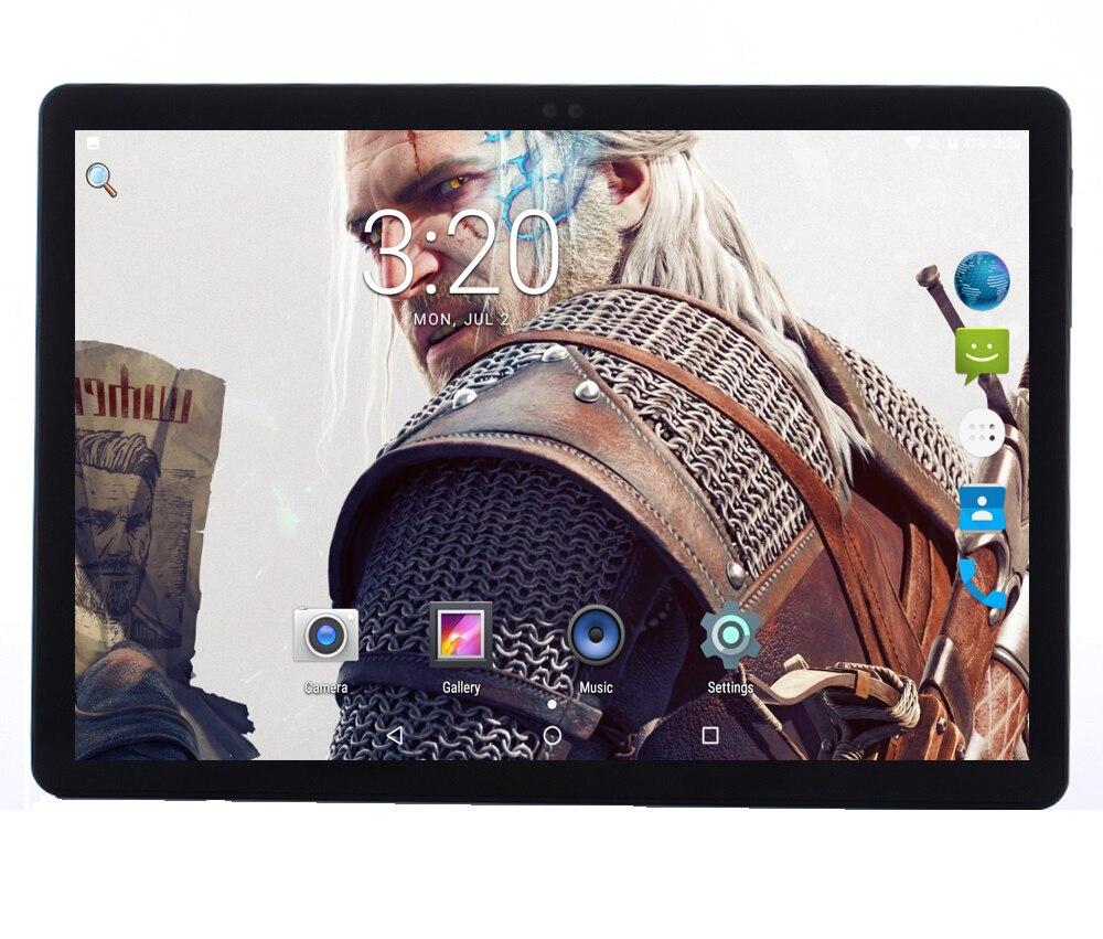Android 7.0 Couvercle En Métal 4g LTE Tablet pc 10 pouce 1920*1200 IPS Écran 10 Core 4 gb RAM 64 gb ROM GPS Wifi Comprimés 10 ''enfant cadeaux
