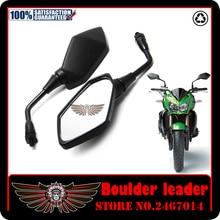 For Kawasaki Z750 Z900 Z650 Motorcycle Racing Rearview Mirrors ER6N Z1000 KLE400 KLE500 Rear View Side