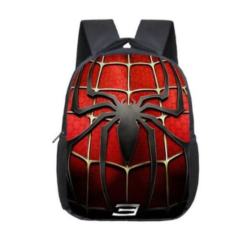 SpiderMan Bag Casual Children School Bags Mochila Infantil 12 Inch Super Hero Spider Man School Backpacks Kindergarten Book Bag