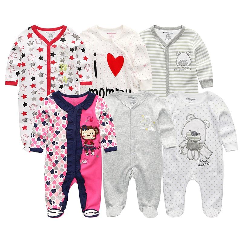 Pasgeboren baby meisje / jongens rompertjes kleding zomer jumpsuits - Babykleding - Foto 3
