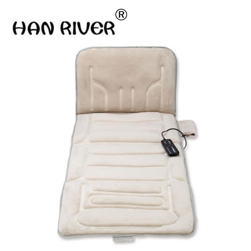The whole body massage mattress multifunctional massage cushion for leaning on of vehicle heating cushion neck massager tapping massage cushion 3d new massager whole body massage chair mat for sale
