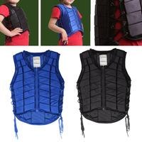 Kid Children Equestrian Horse Riding Body Rope Tie up Protective Safety Vest