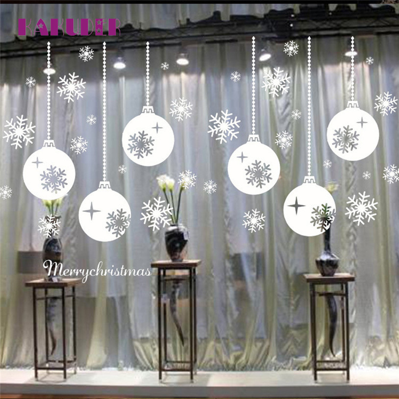 Schneeflocke Weihnachten fenster glas aufkleber weihnachten ...
