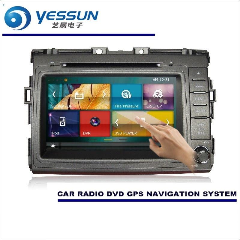 Yessun для toyota estima/Tarago 2006 ~ 2016 radadio CD dvd-плеер Усилители домашние HD ТВ Экран GPS nav navi навигация аудио-видео