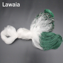 Lawaia Fishing Net Filament Hanging Nets Deep 1.8m And Long 80m  High Quality Mesh Float Pack Lead To Tools