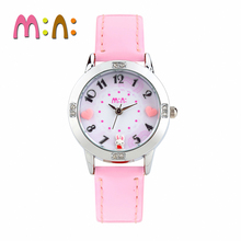 MINI Kids Watch Children Watch Fashion Cute Simple Girls Waterproof Korea Rabbit  Clock