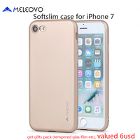 Meleovo Brand Back Cover For IPhone 7 3 Layers Coated TPU Case For IPhone X 8