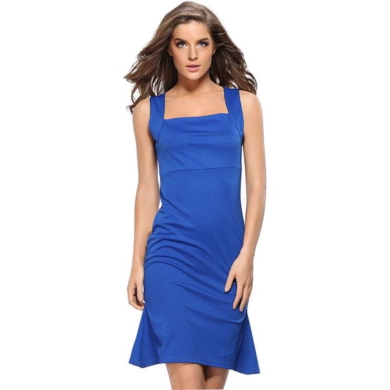 Robes pour femmes 2018 été nouveau sexy Slim discothèque robe harnais Lotus feuille queue crayon vêtements robes RU250