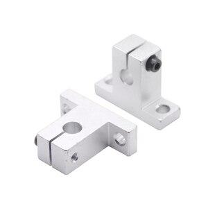 4pcs/lot SK8 SK10 SK12 SK16 SK20 SK25 SK30 SK35 8mm linear bearing rail shaft support XYZ Table CNC Router SH8A 3D printer Part(China)