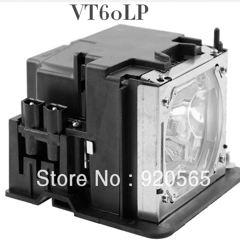 Replacement Projector bulb/Lamp With Housing VT60LP For VT460 / VT460K / VT465 / VT475 / VT560 / VT660 free shipping original projector lamp vt60lp for nec vt46 vt46ru vt460 vt460k vt465 vt475 vt560 vt660 vt660k