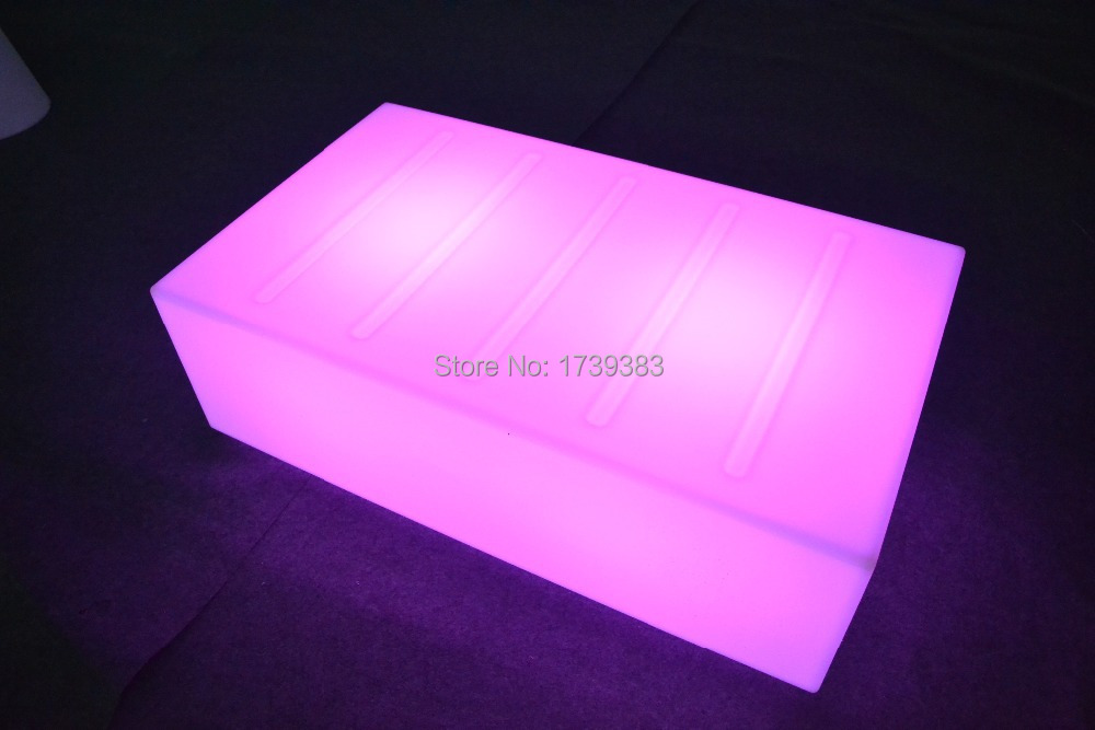 Led light table Remote Control living room furniture luxury hotel ...