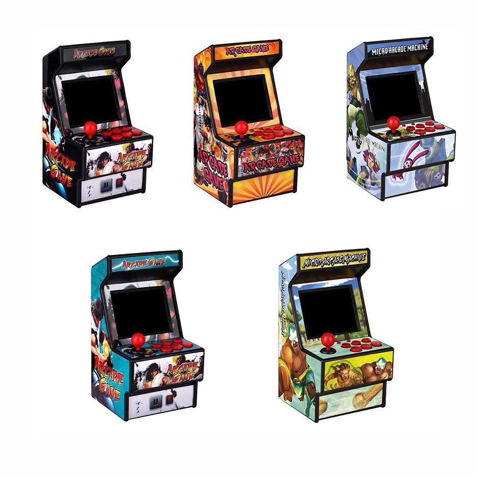 2,8 Zoll Eingebaute 156 Klassische Spiele Für Kinder Retro Mini Arcade Handheld Spielkonsole 16 Bit Spiel-player