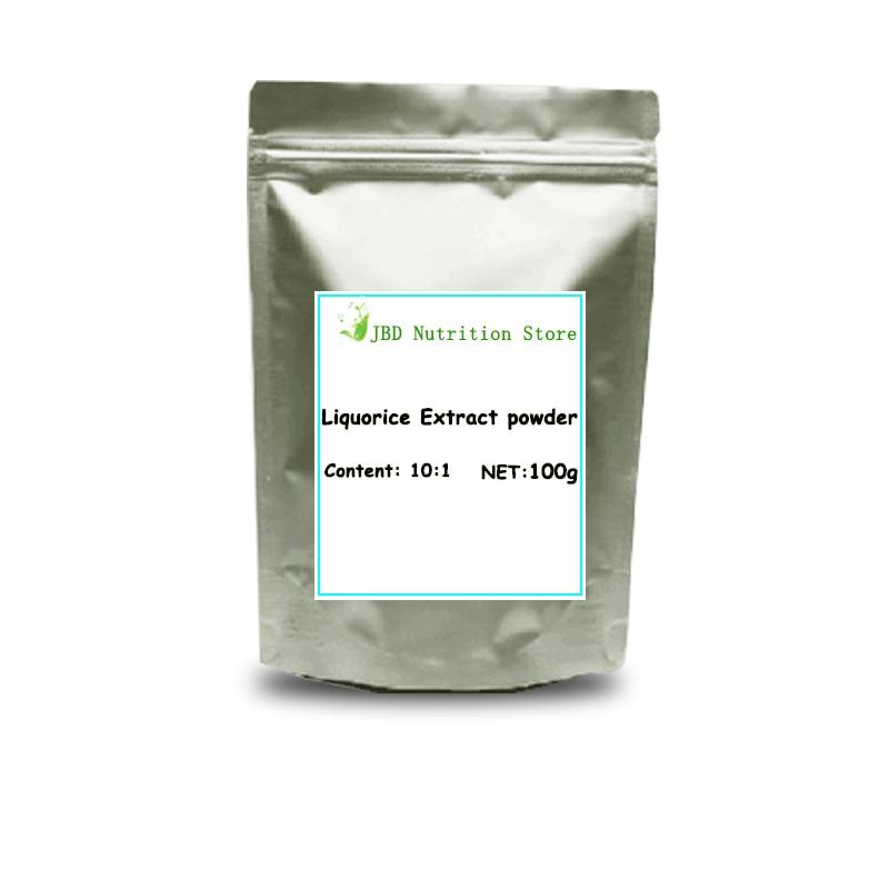 Schönheit & Gesundheit 10:1 Glycyrrhiza/glycyrrhiza Uralensis/licorice Extrakt Pulver
