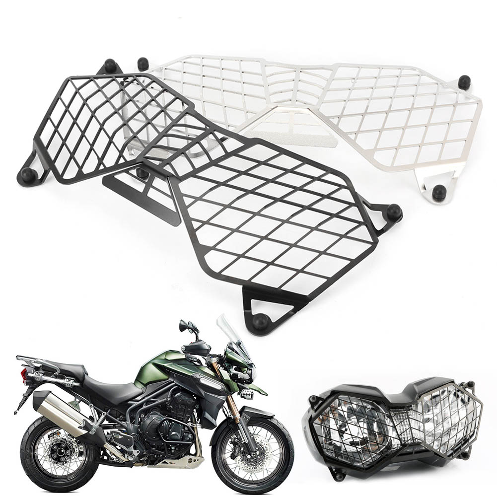 Motorcycle Front Headlight Grille Guard Cover Protector