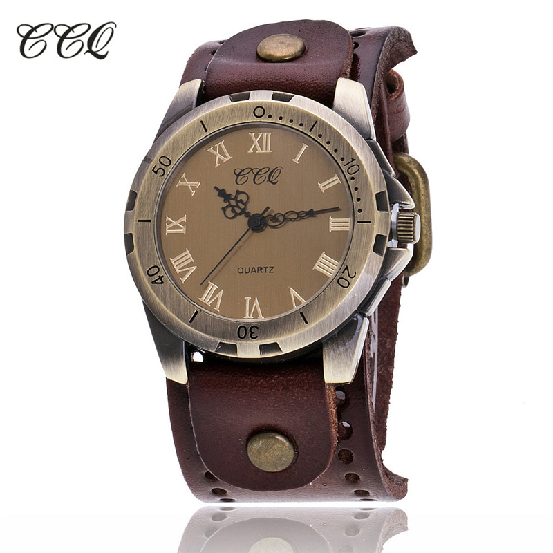 0008cb47720 ... QuartzoCouro de Vaca Pulso dos Homens Ccq Famosa Marca Vintage Roman  Pulseira Relógio de Luxo Casual Quartzo Masculino C20. -5%. 🔍. Relógios ...