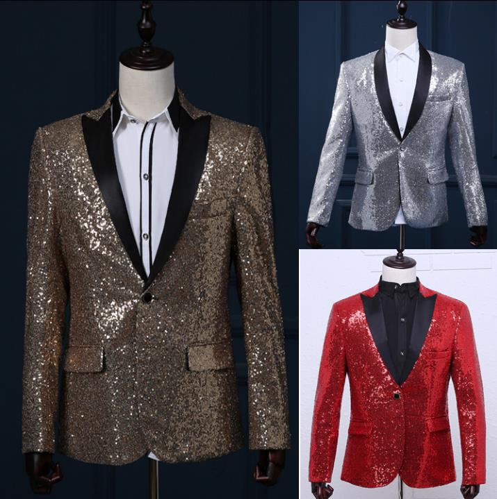 Blazer men formal dress latest coat pant designs suit men costume homme terno masculino sequins marriage wedding suits for men's