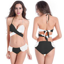 2016 Bikini Push Up Swimsuit Women Swim Beachwear Sexy Breathable Swimming  Set Sweet Bathing Suit Elastic c7816fae2b72