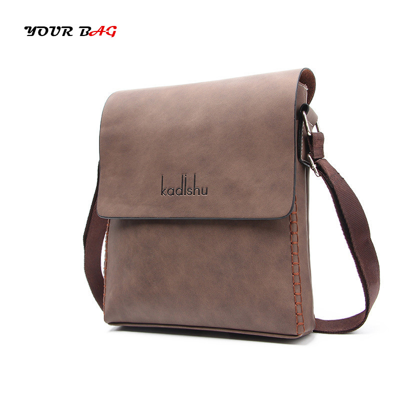 UABG 2018 Vintage Men PU Leather messenger Bags Brand Casual Business Male Flap shoulder Bag large capacity Travel Crossbody Bag qibolu vintage large capacity handbags men shoulder tote bag for travel business sacoche homme bolso hombre bolsa masculina 6002