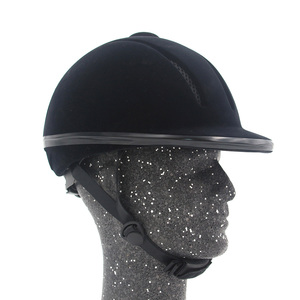 Image 2 - Professional Horse Riding Helmet Adjustable Size Half Face Cover Protective Headgear Secure Equipment for Questrian Riders