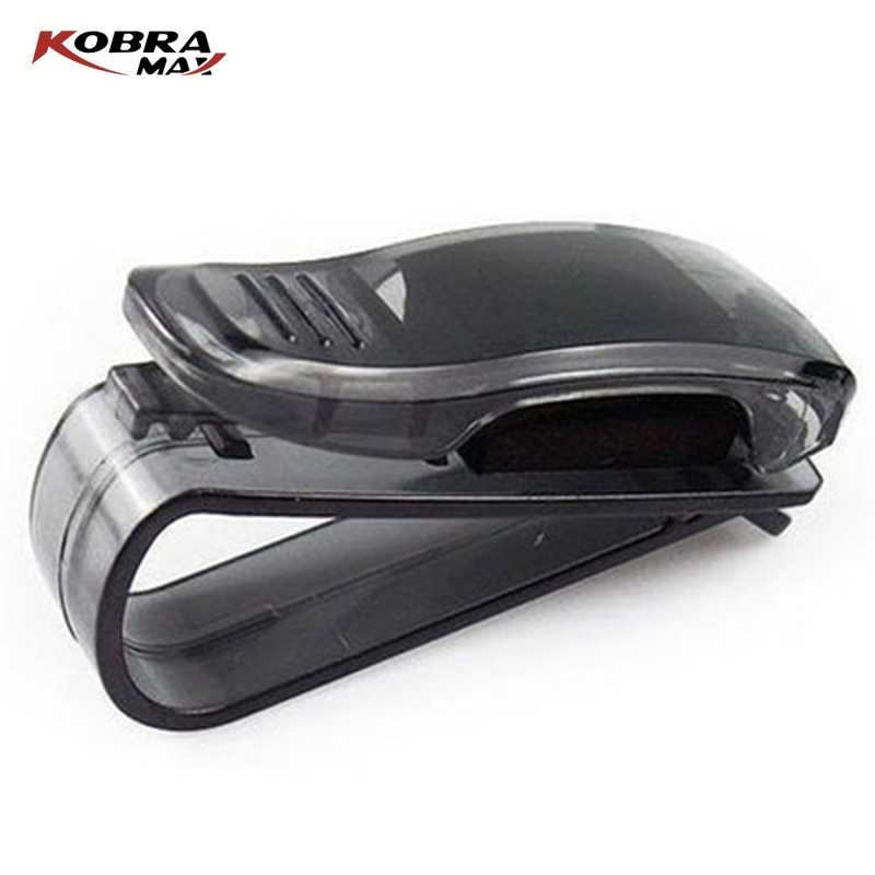 KobraMax Auto Accessories ABS Car Vehicle Sun Visor Sunglasses Eyeglasses Glasses Holder Ticket Clip car clip sunglasses clip in Auto Fastener Clip from Automobiles Motorcycles