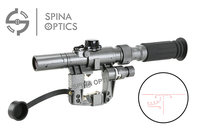 spina optics Dragunov 3 9x24 SVD First Focal Plane Sniper Rifle Scope Fit AK 47 red Illuminated Sight Rifle Scope