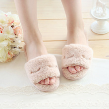 Winter Home Slippers Women's House Shoes For Indoor Bedroom House Warm Cotton Shoes Adult Cute Animal Cartoon Flats Men 2016 New