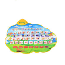 Russian Learning Mat  Play Musical Mat  Alphabet Baby Play Mat Animal Sounds Educational Learning Baby Toy Play mat Carpet Gift