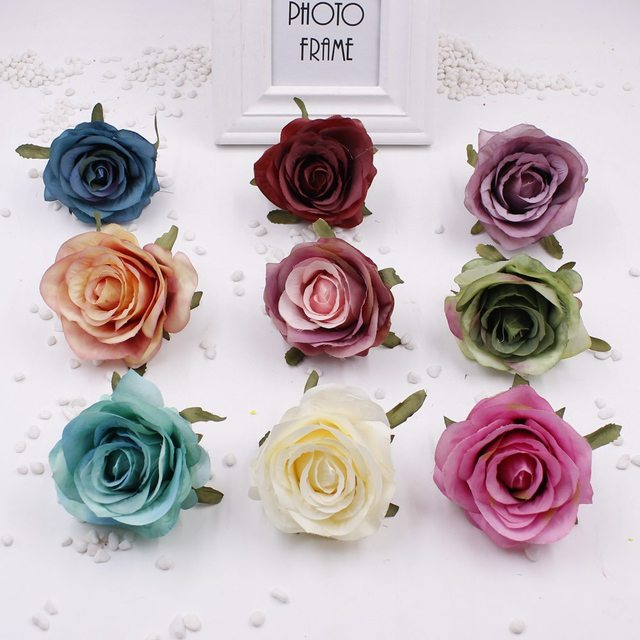 2 units batch 8 cm artificial silk flowers rose rose wedding 2 units batch 8 cm artificial silk flowers rose rose wedding decoration home decoration diy mightylinksfo