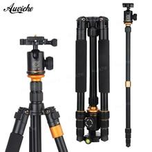 QZSD Q999S Portable Aluminum alloy Tripod Camera Tripod Ball Head Monopod 144cm Load Bearing18KG for Digital camera