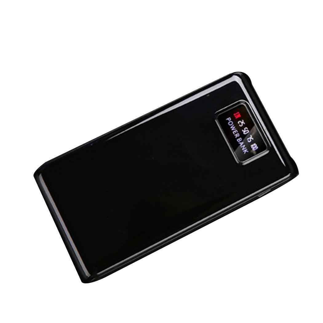 Free Welding Power Bank Shell LCD Screen Digital Display  Mobile Power Case Module DIY Kit External Battery Charger Housing Box