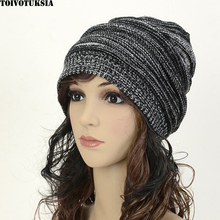 Womens Fall Fashion Hats Twist Pattern Beanies Winter Gorros Femal Warm Hat Ski Slouchy Chic Crochet Knitted Cap Skull