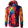 New 2017 Men's Hoodie Ink - hit color printing Hoodies Men Fashion Tracksuit Mens Sweatshirt Off White Hoodie Mens Purpose tour